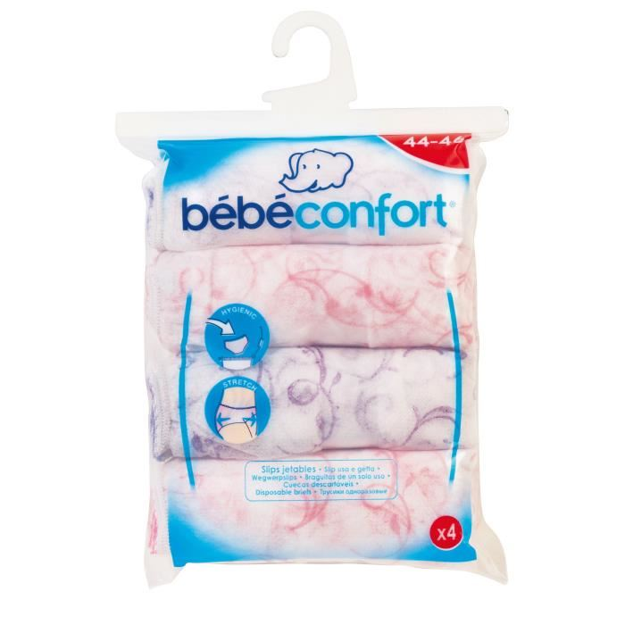 Bébé confort 4 slips à usage unique