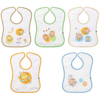 Bébé confort Bavoirs éponge doublé plastique 5x (0-6mois)