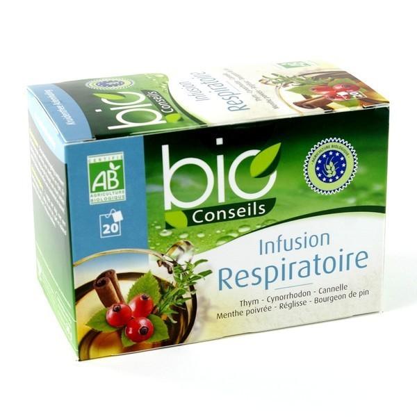 Bio Conseils Infusion Respiratoire 20 sachets
