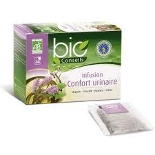 Bio conseils confort urinaire, infusion,20 sachets