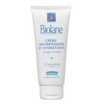 Biolane Crème Nourissante et Hydratante Visage et Corps (100 ml)