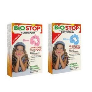 Biostop contrepoux chouchou répulsif anti-poux à mettre sur les cheveux