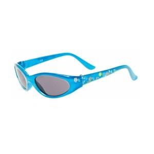 Ptitboo Lunette solaire Bleu/Animaux-fumé uni pour enfants (2 à 4 ans) réf 34510