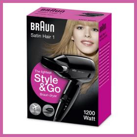 Braun Satin Hair 1 - Sèche-cheveux HD130 garantie 2 ans