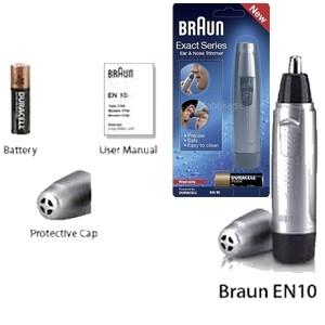 Braun Tondeuse Nez et Oreilles EN10