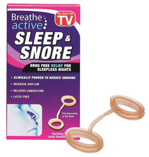 Breathe active Sleep & Snore Permet de Réduire le Ronflement Confortablement