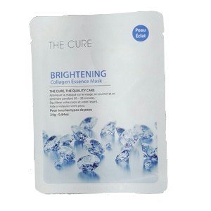 The cure Brightening collagen essence mask 24g