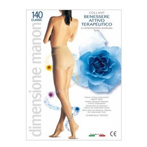 Cabifi manon classic collant 140 DEN compression forte (MMHG 18-22)