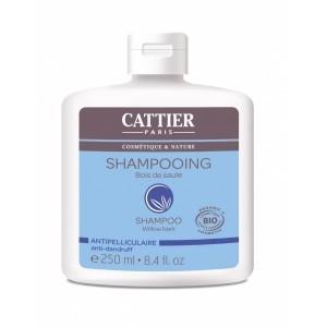 CATTIER Shampooing Au Bois De Saule - Antipelliculaire 250ml