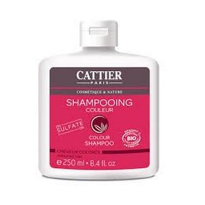 Cattier Shampooing Couleur pour cheveux Colorés 0% Sulfate 250ml