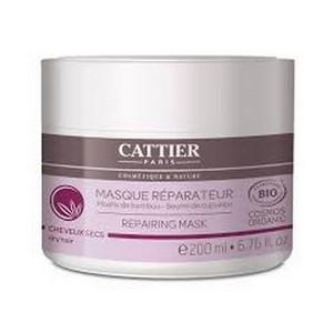 CATTIER Masque réparateur bio pour Cheveux secs 200ml