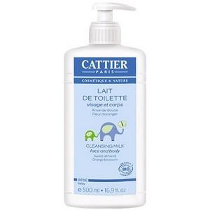 Cattier lait de toilette visage et corps bébé 500ml