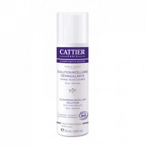 Cattier Mini Solution Micellaire Démaquillante  50 ml