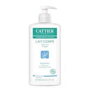 CATTIER Lait modelant aloe vera onagre - 500 ml