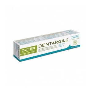 CATTIER Dentifrice Dentargile Menthe 75ml
