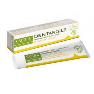 CATTIER Dentifrice Dentargile Citron 75ml