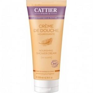 CATTIER Crème de Douche Nourrissante - Parfum Amande et Coing 200ml