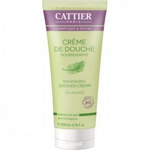CATTIER Crème de Douche Nourrissante - Parfum Thé Vert 200ml