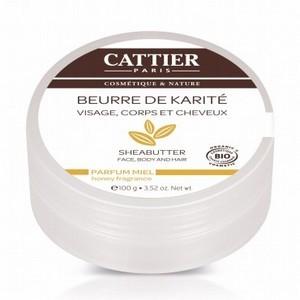 CATTIER Beurre de karité - Miel 100g