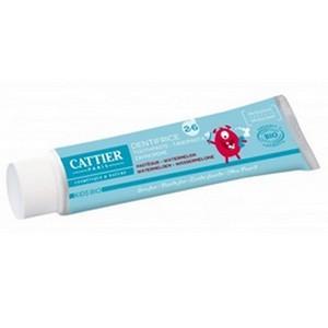 CATTIER dentifrice 2-6 ans gout pastèque 50ml