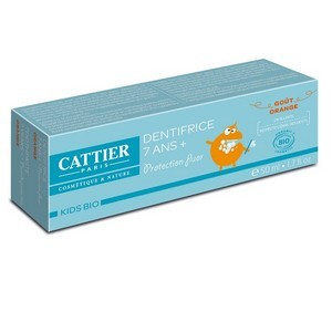 Cattier Dentifrice 7 ans et + Goût Orange 50ml