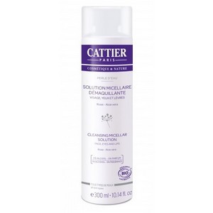 cattier solution micellaire demaquillante - perle d'eau 300ml
