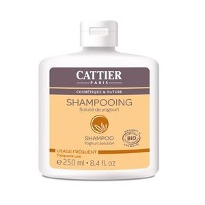 CATTIER Shampooing Au Solute/Yaourt Usage Fréquent 250ml