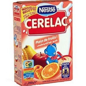 CERELAC blé fruits et lait 400g