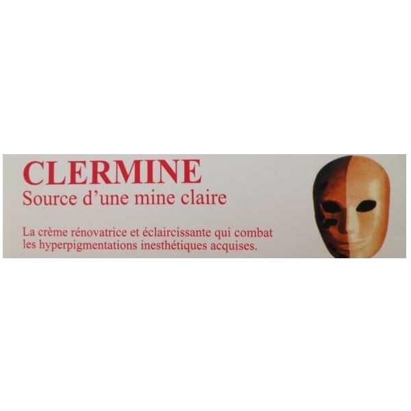 Clermine crème rénovatrice et éclaircissante 30g