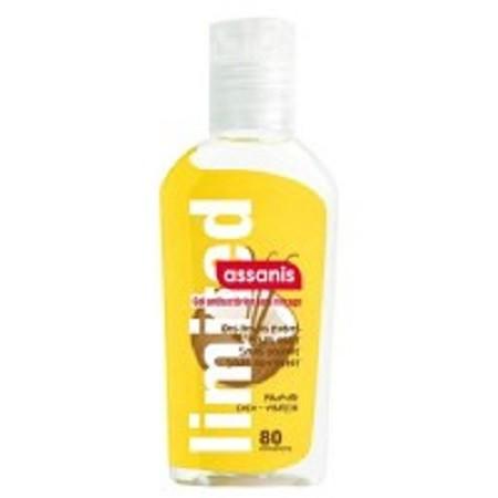 Assanis Pocket Coco Vanille Gel Antibacterien Aloé vera + Pro-vitamine B5 sans Rinçage 80 ml