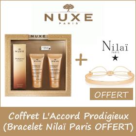 Coffret Nuxe - L'accord Prodigieux + Cadeau au choix OFFERT