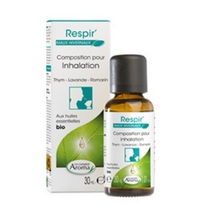 LE COMPTOIR AROMA Composition Inhalation Respir Thym-Lavande-Romarin 30 ml