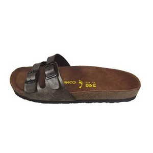 Confort line orthopedic sandales femme 2 boucles bronze