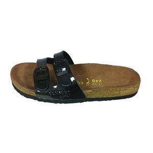Confort line orthopedic sandales femme 2 boucles noir
