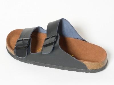 Sandale homme noir - Confort line