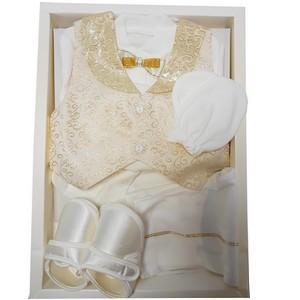 Coffret Babylia costume de baptême pour Garcons