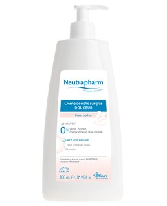 Neutrapharm Créme Douche Surgras Douceur au Fleur de Tiaré peaux sèches 500ml