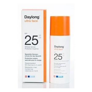 DAYLONG Vitaminé Ultra Face (VISAGE) Crème solaire anti-âge FPS 25 (A - C et E) (50 ml)