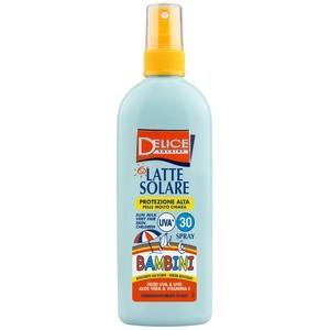 Delice Solaire - Spray Lait solaire enfant FP30 150ml
