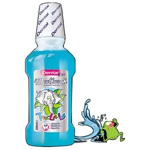 Dental kids tra-la-la bain de bouche 300ml