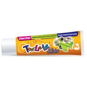 Dental kids tra-la-la dentifrice tropic fruits 50ml