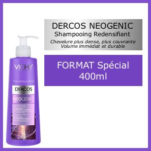 Offre Vichy Dercos Neogenic 400ml