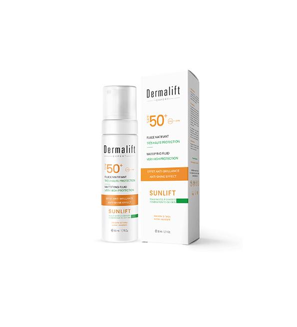 Dermalift Sunlift Fluide matifiant spf50+ 50ml