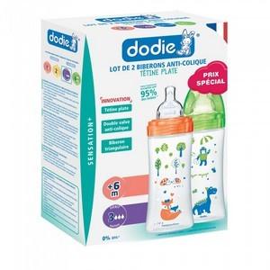Dodie Coffret biberon x2 sensation+ 330ml