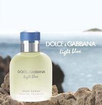 Dolce&Gabbana Light Blue Eau de Toilette homme 75 ml