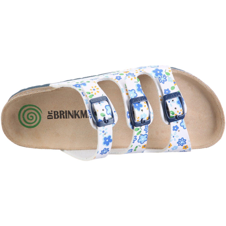 Dr. Brinkmann sandales bleu enfant à boucles orthopedique 500069