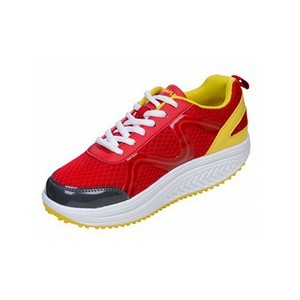 Drainaflex balancing shoes baskets flashy rouge