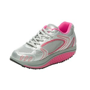 Drainaflex balancing shoes baskets gris-rose