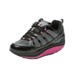 Drainaflex balancing shoes baskets noir-rose