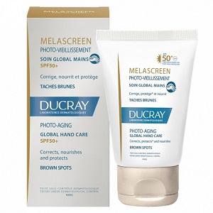 Ducray Melascreen Photo-Aging soin global mains Spf50+ 50 ml